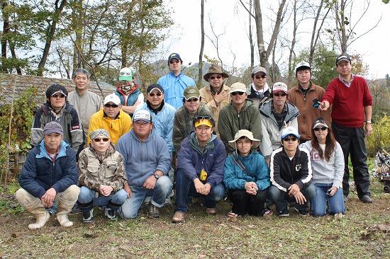 2009年11月1日AFA釣り大会