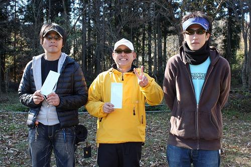 2010年秋AFA釣り大会ルアー上位入賞者