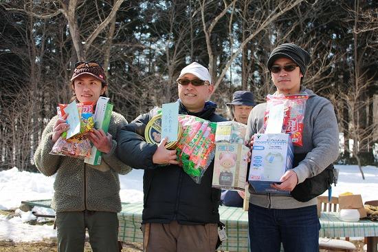 2011年AFA春の釣り大会入賞者の皆さん