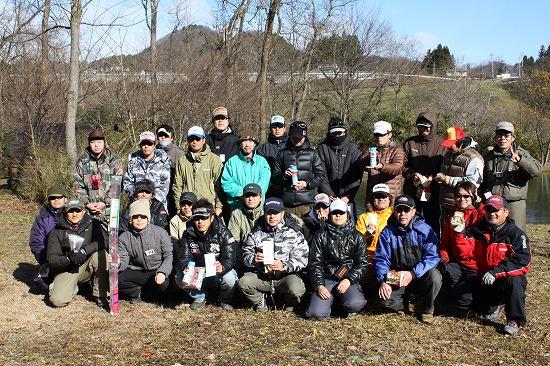 ルアーキング2011年冬参加者の皆さん