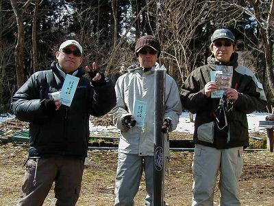 AFA釣り大会ルアー上位入賞者の皆様