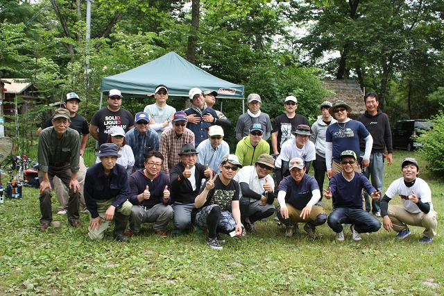 2016年6月19日AFAルアーキング大会集合写真